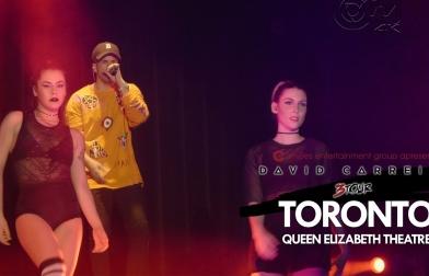 Dama do Business – David Carreira em Toronto – 3 TOUR – 2017