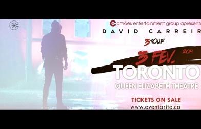 Teaser 3TOUR Toronto – David Carreira