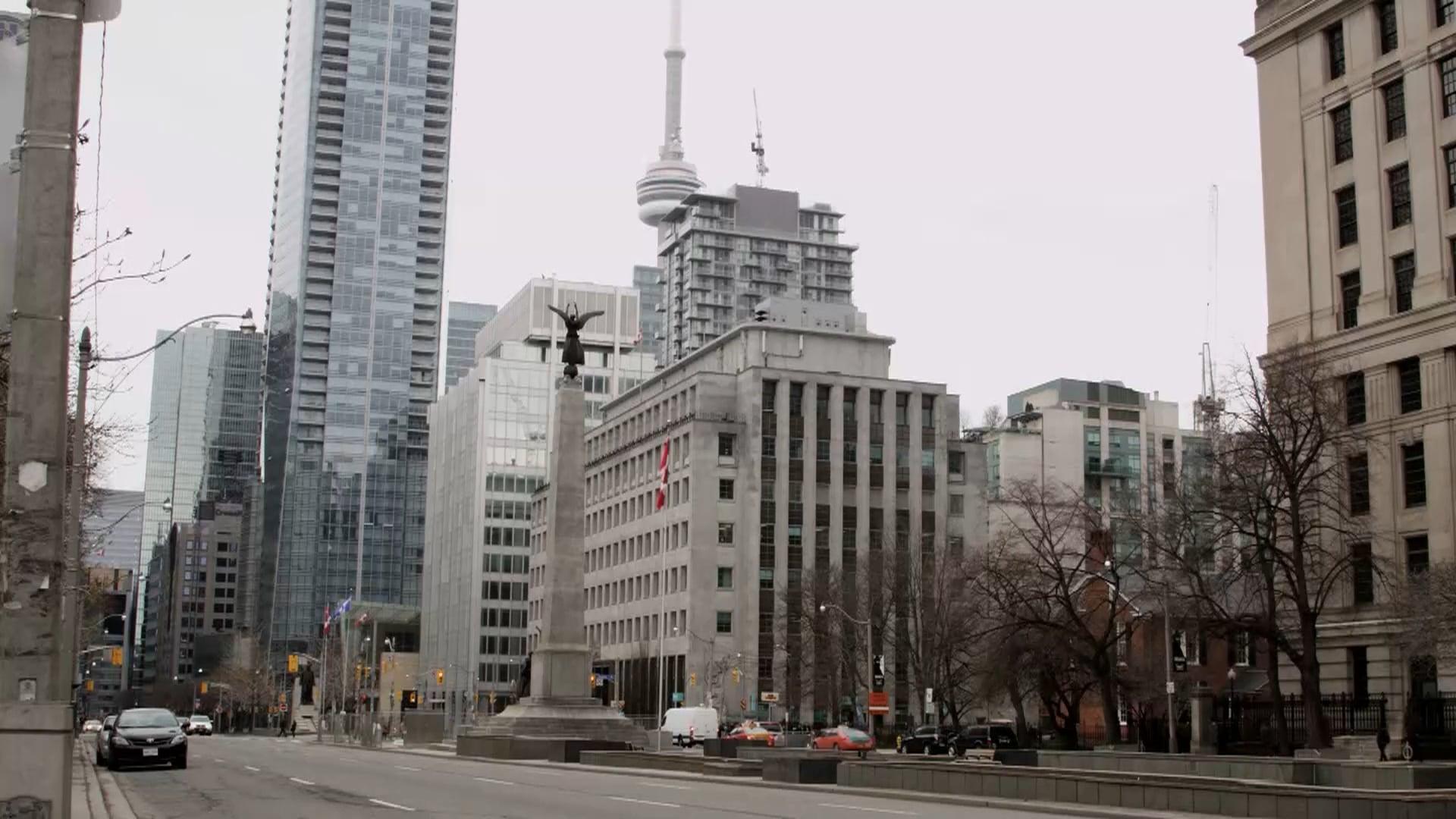 Toronto durante a pandemia